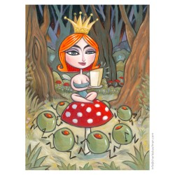 """3D Graphic: """"The Princess and the Olives"""""""