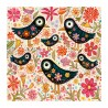 """3D Graphic: """"Birds and Flowers"""""""