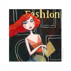 "Small 3D Graphic: ""Fashion"""
