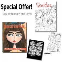 "Save 7€! ""540 Women"" and ""Sketches"" Books"