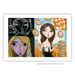 "Giclée Print on Fine Art Paper: ""Scenes of a Dream"""