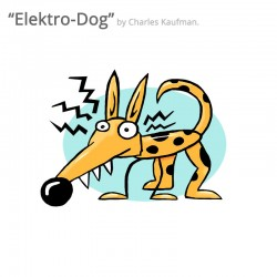 "3D Graphic: ""Elektro-Dog"""