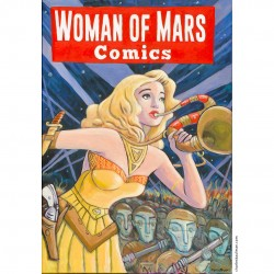 "Giclée Print on Canvas: ""Women of Mars Comics"""